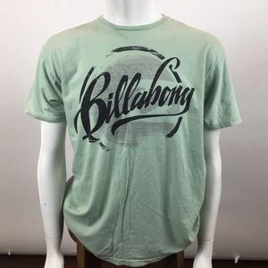 Billabong Mint Pastel Graphic Shirt For Men